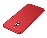 Meizu M6 Note Mat Kırmızı Silikon Kılıf