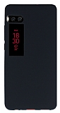 Meizu Pro 7 Mat Siyah Silikon Kılıf