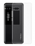 Meizu Pro 7 Ultra İnce Şeffaf Silikon Kılıf