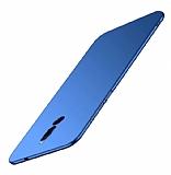 Meizu X8 Mat Lacivert Silikon Kılıf