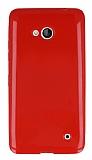 Microsoft Lumia 640 Kırmızı Silikon Kılıf