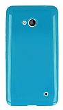 Microsoft Lumia 640 Yeşil Silikon Kılıf
