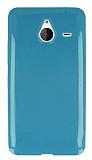 Microsoft Lumia 640 XL Ye�il Silikon K�l�f