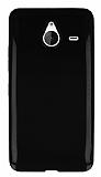 Microsoft Lumia 640 XL Siyah Silikon K�l�f