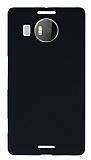 Microsoft Lumia 950 XL Siyah Sert Rubber Kılıf