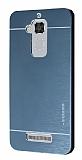 Motomo Asus Zenfone 3 Max ZC520TL Metal Lacivert Rubber Kılıf