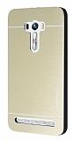 Motomo Asus Zenfone Selfie Metal Gold Rubber Kılıf