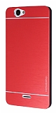 Motomo Casper Via V5 Metal Kırmızı Rubber Kılıf