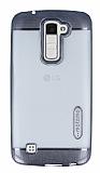 Motomo Gel LG K10 Dark Silver Silikon Kılıf