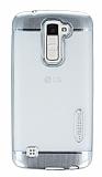 Motomo Gel LG K10 Silver Silikon K�l�f