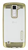 Motomo Gel LG K8 Gold Silikon Kılıf