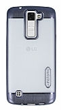 Motomo Gel LG K8 Dark Silver Silikon K�l�f