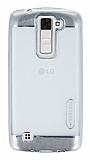 Motomo Gel LG K8 Silver Silikon Kılıf