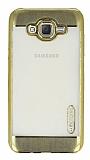 Motomo Gel Samsung Galaxy J7 Gold Silikon Kılıf