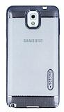 Motomo Gel Samsung Galaxy Note 3 Dark Silver Silikon K�l�f