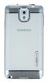 Motomo Gel Samsung Galaxy Note 3 Silver Silikon K�l�f