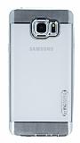 Motomo Gel Samsung Galaxy Note 5 Silver Silikon K�l�f