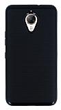 Motomo General Mobile GM 5 Plus Siyah Kenarlı Siyah Silikon Kılıf