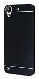 Motomo HTC Desire 630 Metal Siyah Rubber Kılıf