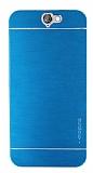 Motomo HTC One A9 Metal Mavi Rubber Kılıf