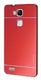 Motomo Huawei Ascend Mate 7 Metal Kırmızı Rubber Kılıf
