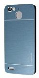 Motomo Huawei GR3 Metal Lacivert Rubber Kılıf