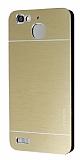 Motomo Huawei GR3 Metal Gold Rubber Kılıf