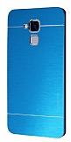 Motomo Huawei GT3 Metal Mavi Rubber Kılıf
