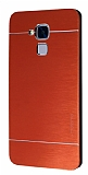 Motomo Huawei GT3 Metal Kırmızı Rubber Kılıf