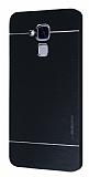 Motomo Huawei GT3 Metal Siyah Rubber Kılıf