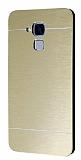 Motomo Huawei GT3 Metal Gold Rubber Kılıf