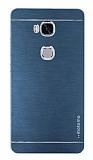 Motomo Huawei Honor 5X Metal Füme Rubber Kılıf
