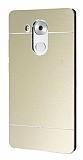 Motomo Huawei Mate 8 Metal Gold Rubber Kılıf