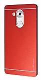 Motomo Huawei Mate 8 Metal Kırmızı Rubber Kılıf
