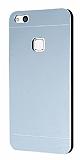 Motomo Huawei P10 Lite Metal Silver Rubber Kılıf