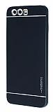 Motomo Huawei P10 Metal Siyah Rubber Kılıf