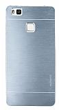 Motomo Huawei P9 Lite Metal Silver Rubber Kılıf