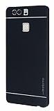 Motomo Huawei P9 Metal Siyah Rubber K�l�f