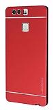 Motomo Huawei P9 Metal Kırmızı Rubber Kılıf