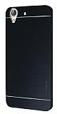 Motomo Huawei Y6 ii Metal Siyah Rubber Kılıf