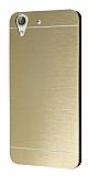 Motomo Huawei Y6 ii Metal Gold Rubber Kılıf