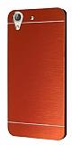 Motomo Huawei Y6 ii Metal Kırmızı Rubber Kılıf
