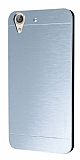 Motomo Huawei Y6 ii Metal Silver Rubber Kılıf