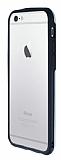 Motomo Hybrid iPhone 6 Plus / 6S Plus Kristal Silver Kılıf