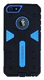 Motomo iPhone 5 / 5S Ultra Koruma Mavi K�l�f