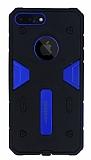Motomo iPhone 7 Plus Ultra Koruma Lacivert Kılıf