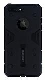 Motomo iPhone 7 Plus Ultra Koruma Siyah Kılıf