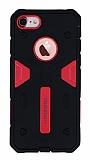 Motomo iPhone 7 Ultra Koruma Pembe Kılıf