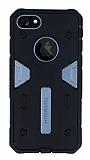 Motomo iPhone 7 Ultra Koruma Dark Silver Kılıf
