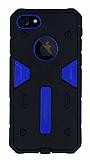 Motomo iPhone 7 Ultra Koruma Lacivert Kılıf